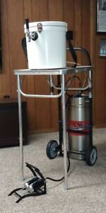 Bier Wagen Portable Tap Beer Keg Dispensing System Free Shipping