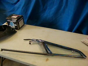 1965 Plymouth Satellite Lh Wing Window Frame Assy Oem Belvedere Ii 2218493