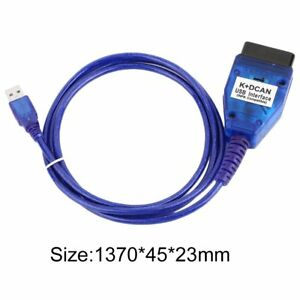 K Dcan Usb Interface Chip Scan Reader Diagnostic Cable For Bmw Inpa Dis Sss Ncs