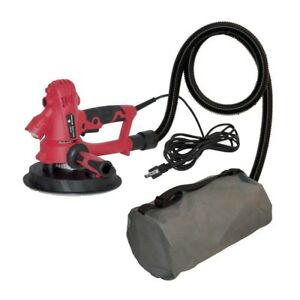 Electric Drywall Sander With Vacuum Led Light Variable Speed Industrial Tool