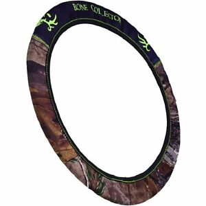 Bone Collector Realtree Camo Steering Wheel Cover Neoprene Auto Car Truck