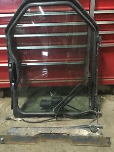 Bobcat Skid Steer Front Door Glass S160 S175 S185 Wiper Complete