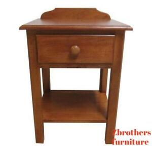Ethan Allen Cottage Collection Lamp End Table Night Stand Side Finish 237