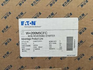 Eaton W 200m5cfc Size 5 60 Hz Starter Replaces W200m5cfc