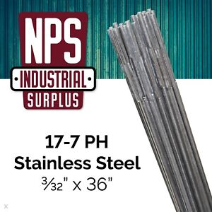 1 Lb 17 7 Ph Stainless Steel Tig Filler Welding Rod 3 32 X 36 Sx
