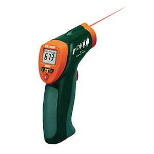 Extech Ir400 Mini Ir Thermometer Built in Laser Pointer 4 To 630f 8 1
