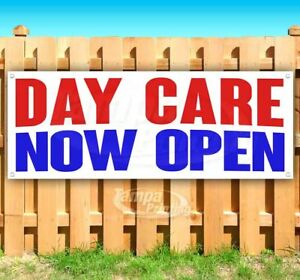 Day Care Now Open Advertising Vinyl Banner Flag Sign Many Sizes
