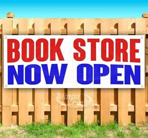 Book Store Now Open Advertising Vinyl Banner Flag Sign Many Sizes