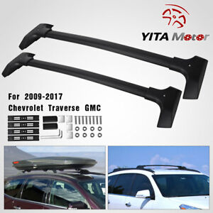 For 2009 2017 Chevrolet Traverse Gm Roof Rack Rail Cross Bar Carrier Oe Replace