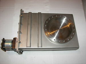 Varian High Vacuum Research Chamber 8 cff Air Actuated Gate Valve Mdc Hva