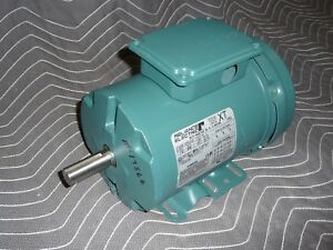 Reliance Electric Duty Master Ac Motor P14x3239t 1 Hp 1725 Rpm 230 460v 143t