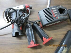 Snap On 1 4 Cordless Impact Drill Ct661 Two 7 2 Volt Batteries
