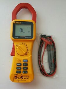 Fluke 355 True Rms 2000a Ac Dc Current Amp Clamp Meter Trms 600v 2000a Cat Iv