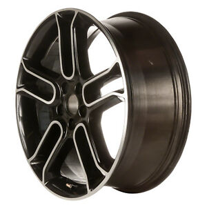 20 X 8 5 Double Spoke New Ford Alloy Wheel Machined And Gloss Black 3903