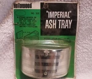 Vtg Hollywood Accessories Imperial Ashtray Car Auto Chevy Gm Buick Ford Pontiac