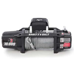 Smittybilt 97510 X20 Gen2 Winch 10000 Lb Waterproof Steel Rope 6 6 Hp Black