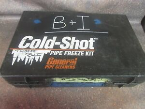 General Pipe Cleaners Cold Shot Pipe Freeze Kit Missing Parts n4