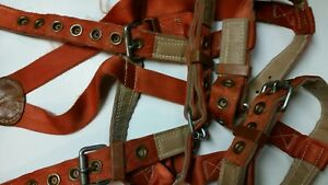 Klein Tools Model 5419 Small Size Lineman s Climbing Safety Harness Belt W seat
