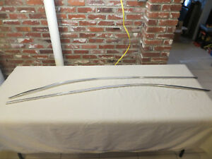 1959 1960 Cadillac Coupe Gutter Trim