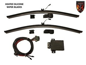 2 24 Heated Silicone Winter Wiper Blades Thermalblade 14 Up Volvo Vhd Semi