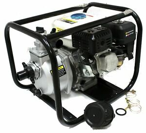New 6 5hp Gas Power Water Pump 3 Semi Trash Epa Gas Engine Water Pump