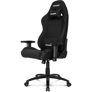 Akracing Core Series Ex Fabric Gaming Chair With High Wide Backrest Black