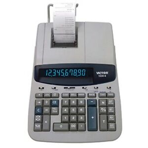 Victor 1530 6 10 Digit Professional Grade Heavy Duty Commercial Printing Calcul