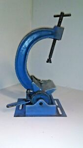 Vintage Bench Top Pipe Vise Clamp Must See
