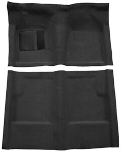 New 1960 1965 Ford Falcon Carpet Set Black Molded W Backing And Heel Pad