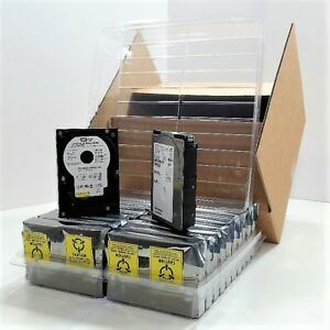 3 5 Hard Disk Drive Clamshell Packaging 20 pack Shipping Storage Case Box Kit