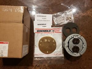 Legrand Wiremold Outlet Floor Box 3 4 In 15 Amp Round Solid Forged Brass Cover