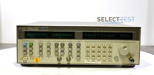 Agilent Hp 83752a Synthesized Sweeper 10mhz 20ghz Analog Digital ref 048
