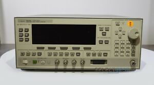 Agilent Hp 83620b Synthesized Swept Signal Generator 10 Mhz 20 Ghz ref 332