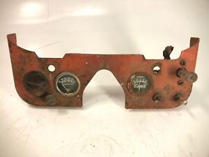 Case Tractor Dash Gauge Panel Vintage antique Barn Find Patina Rustic