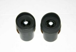 Pair Of Nikon 15x 14 Eyepieces For Stereozoom Microscopes 30mm Barrel