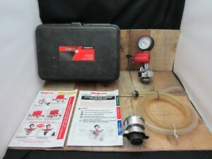 Snap on Svtsrad272a Cooling System Refiller Kit Used Bundle Svt 262 28a Included
