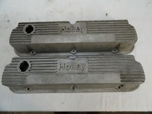 Holley Mickey Thompson Ford Valve Covers Sbf Vintage 140r 55b 302 Mustang Cobra