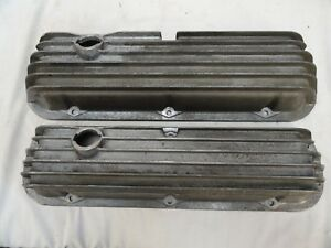 Vintage Cal Custom Valve Covers Ford Sbf Mustang Cobra Small Block Ford