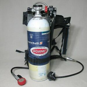 Sperian Luxfer Survivair 2216 Psi 30 Minute Air Cylinder 2010 Scba Used Good