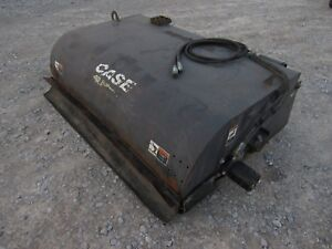 Case Sweepster Skid Steer Attachment 72 Pick Up Box Sweeper Broom Ship 199