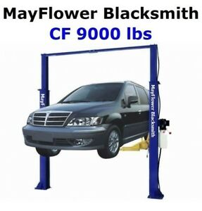 Mayflower Blacksmith Heavy Duty Clear Floor Two Post Lift Car Lift Cf 9000 Lbs