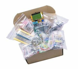Xl Electronic Component Kit Assortment Capacitors Resistors Led Transisto