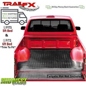 Trailfx Drop In Rubber Truck Bed Mat Fits 2005 2019 Nissan Frontier 5 6 Bed