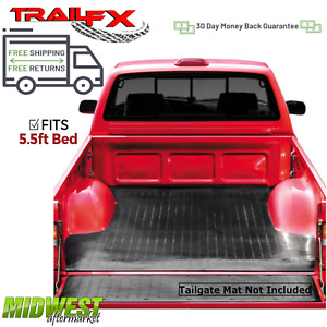 Trailfx Drop In Rubber Truck Bed Mat Fits 2007 2019 Toyota Tundra 5 5 Bed