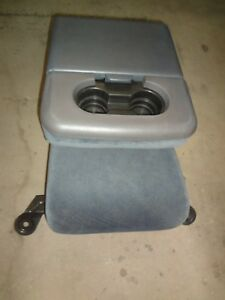 1999 2010 Ford F250 F350 F450 F550 Super Duty Blue Cloth Center Jump Seat 2001