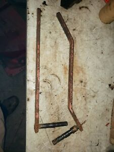 Allis Chalmers Styled Wc Tractor Hand Brake Handles Set Ac Levers Parts Rh Lh Rc