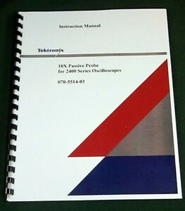 Tektronix Tfp2a Service Manual Comb Bound Protective Covers
