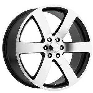 22 Tbss 1500 Tahoe Suburban Trailblazer Ss Wheels Black Oem Replica Fs