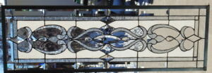 Stained Glass Transom Window Hanging 41 X 14