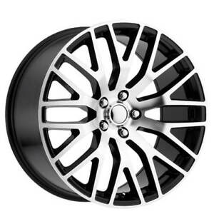 20 Staggered Ford Mustang Performance Wheels Black Machined Oem Replica Fs